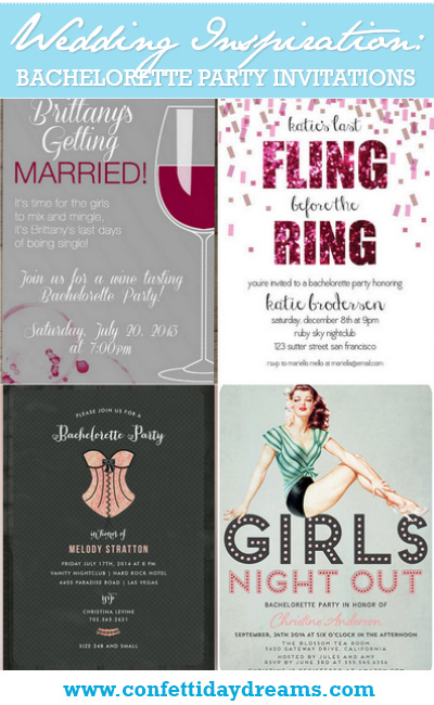 Bachelorette Invitations {Wedding Trends}