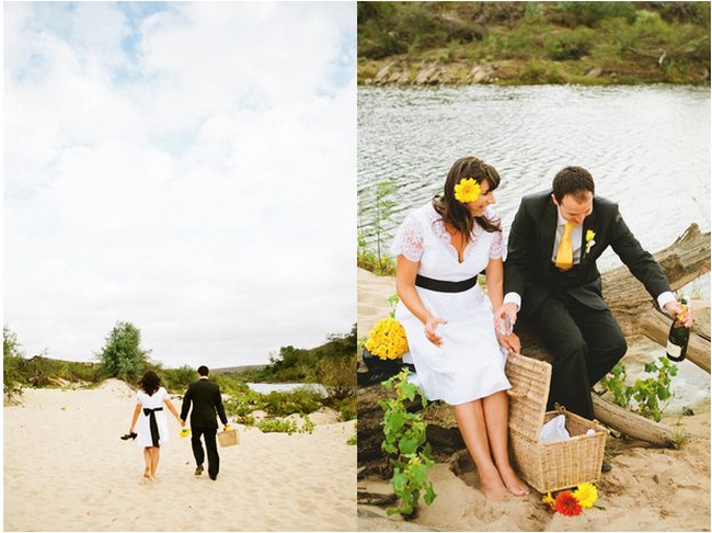 Country Chic Yellow & Green Wedding