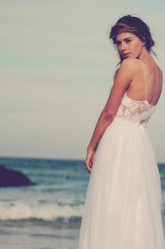 Grace Loves Lace 2014 Bridal Collection | Loren White Dress