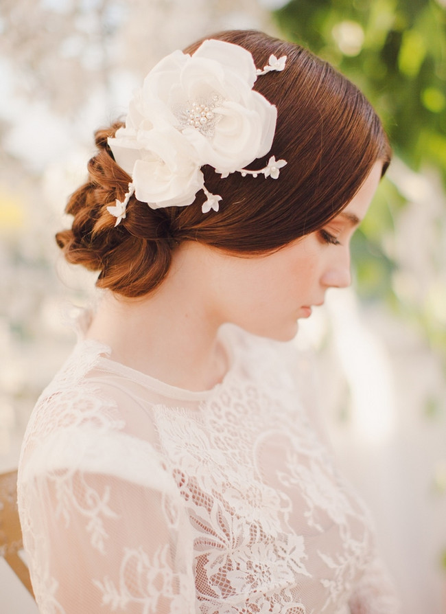 Jannie Baltzer 2014 Bridal Headpiece Collection | Sarah