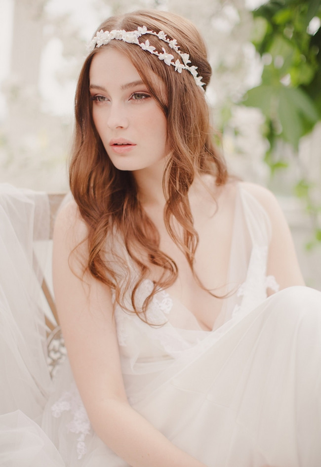 Jannie Baltzer 2014 Bridal Headpiece Collection | Bailey