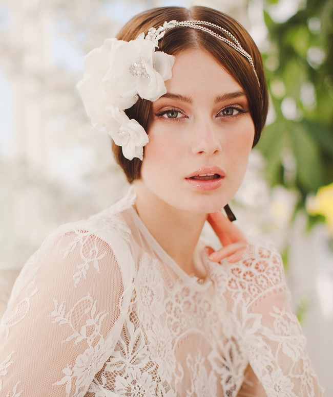 Jannie Baltzer 2014 Bridal Headpiece Collection | Selma