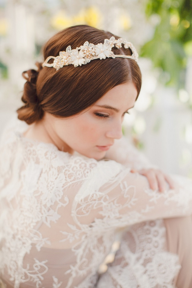 Jannie Baltzer 2014 Bridal Headpiece Collection | Fleur