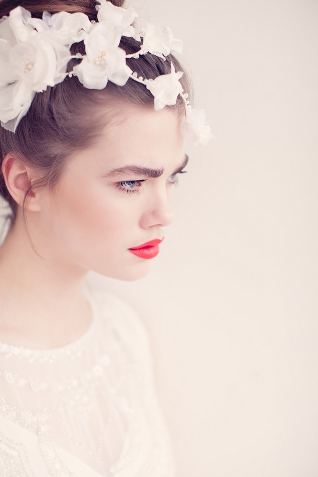 Jannie Baltzer 2014 Bridal Headpiece Collection | Zoe