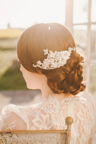 Jannie Baltzer 2014 Bridal Headpiece Collection | Roberta