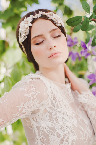 Jannie Baltzer 2014 Bridal Headpiece Collection | Rina