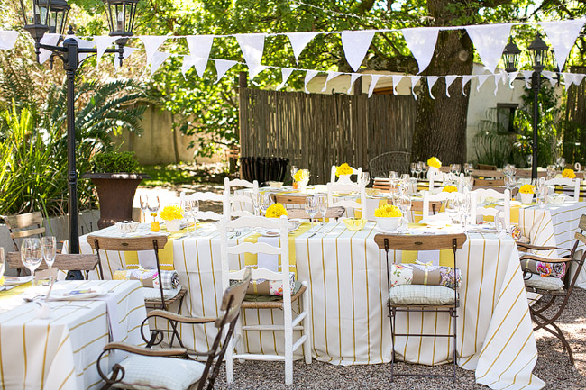 Western Wedding Decorations 9 Marvelous Quirky Yellow Outdoor Wedding