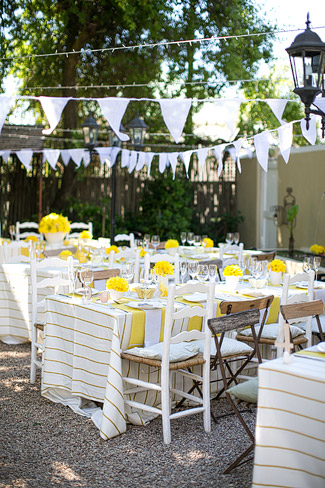 Quirky Yellow Outdoor Wedding, Riebeek Kasteel