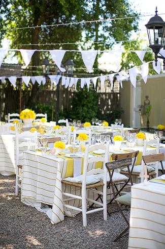 Quirky Yellow Outdoor South African Wedding Riebeek Kasteel