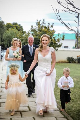 Vintage Peach and Mint Wedding, Wellington
