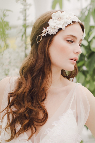 Jannie Baltzer 2014 Bridal Headpiece Collection | Taylor