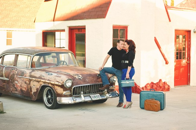 1950s Styled Engagement Shoot Neelys Photography 024