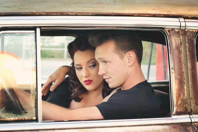1950s Styled Engagement Shoot Neelys Photography 032