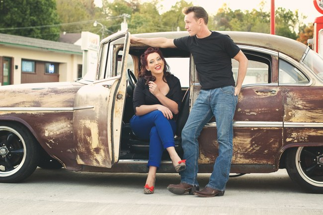 1950s Styled Engagement Shoot Neelys Photography 040