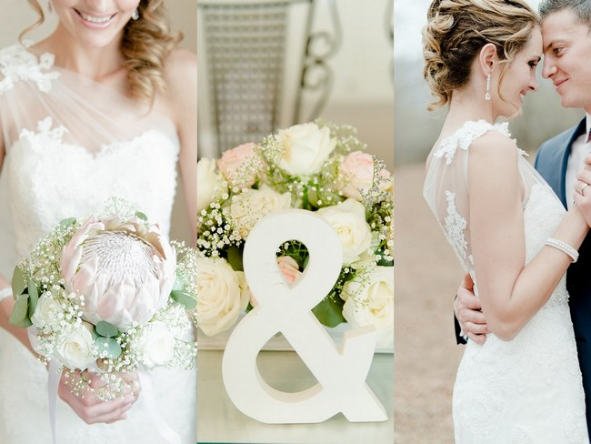 Dreamy Blush and Neutral South African Wedding – Louise Vorster Photography
