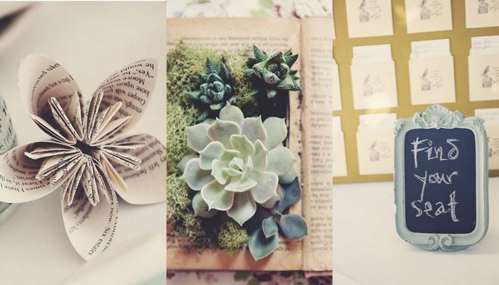 Literary Book Lover Wedding – DIY Styling Ideas