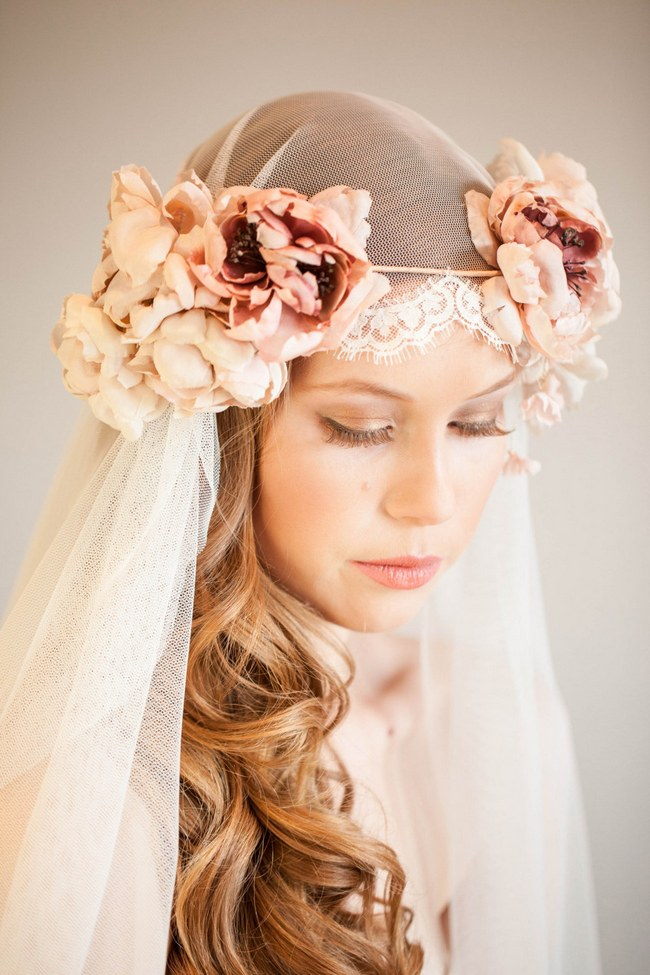 Long Hair Wedding Hairstyle idea