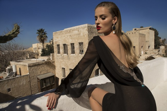 Galia Lahav Moon Struck Evening Gown Collection   14