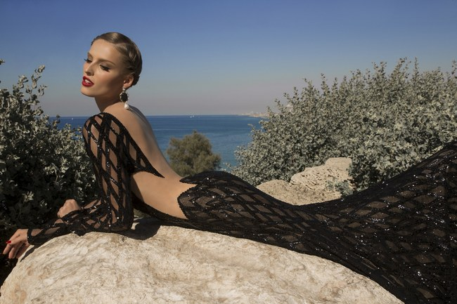 Meteor Galia Lahav Moon Struck Evening Gown Collection   18