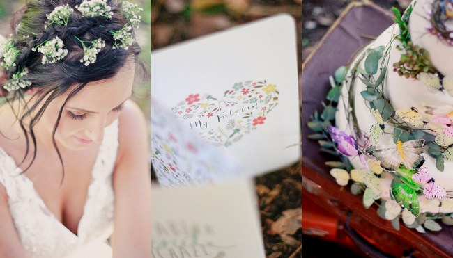 Colourful Rustic Forest Styled Wedding Inspiration