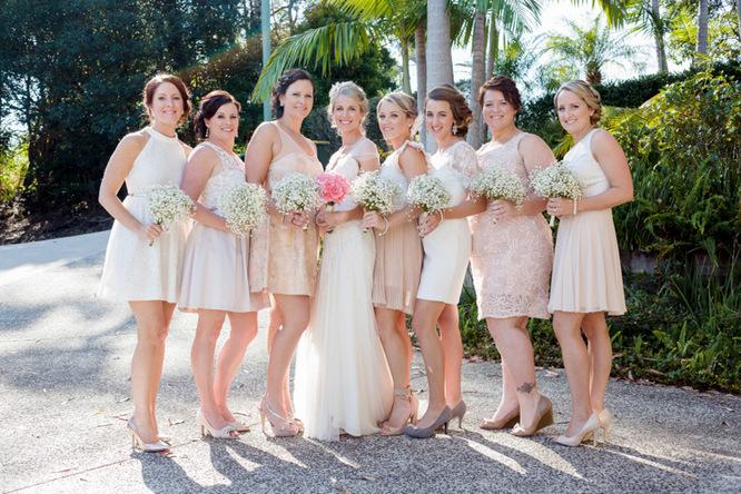 Vintage Chic Bridesmaid Dresses