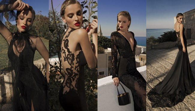 Sexy Black Evening Dresses – Galia Lahav Moonstruck 2014 Collection