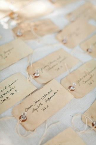 Unique Wedding Escort Place Card Ideas 2