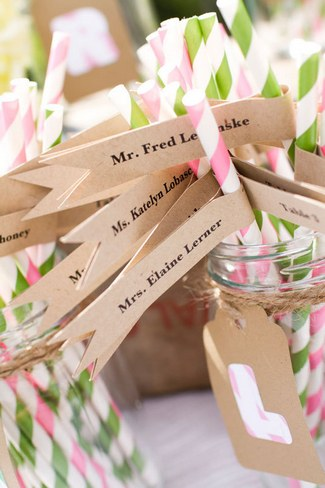 Unique Wedding Escort Place Card Ideas 3