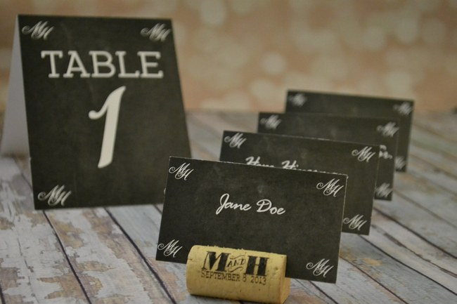 Unique Wedding Escort Place Card Ideas _12