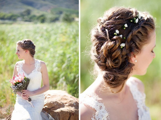 Peachy 17 Jaw Dropping Wedding Updos Amp Bridal Hairstyles Hairstyles For Women Draintrainus