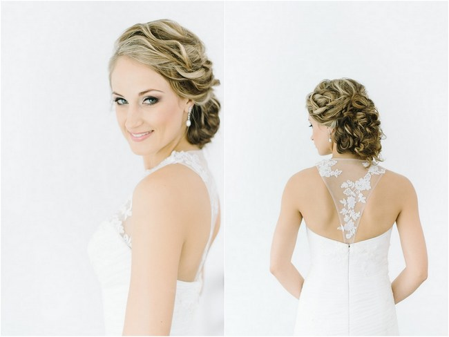 Brilliant 17 Jaw Dropping Wedding Updos Amp Bridal Hairstyles Hairstyles For Women Draintrainus