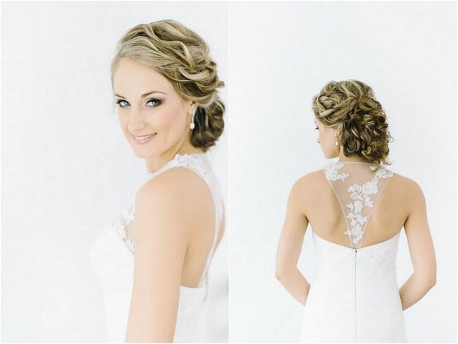 Remarkable 17 Jaw Dropping Wedding Updos Amp Bridal Hairstyles Short Hairstyles Gunalazisus
