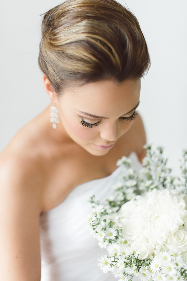 12. (Above) We're so in love with braided bridal hairstyles at the