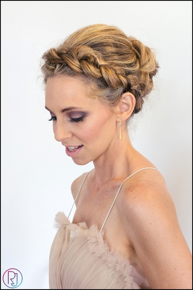 Tremendous 17 Jaw Dropping Wedding Updos Amp Bridal Hairstyles Hairstyles For Women Draintrainus