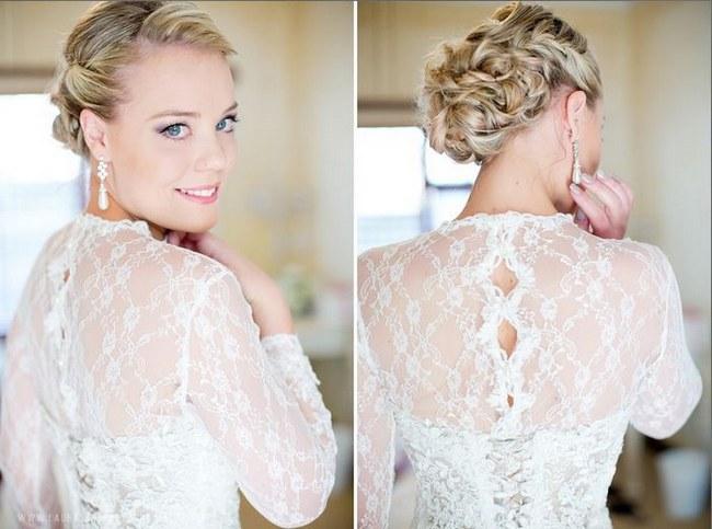 Astonishing 17 Jaw Dropping Wedding Updos Amp Bridal Hairstyles Short Hairstyles Gunalazisus