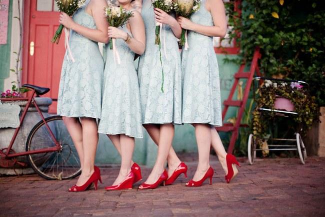 Aqua Blue Red Rustic Farm Wedding South Africa 012