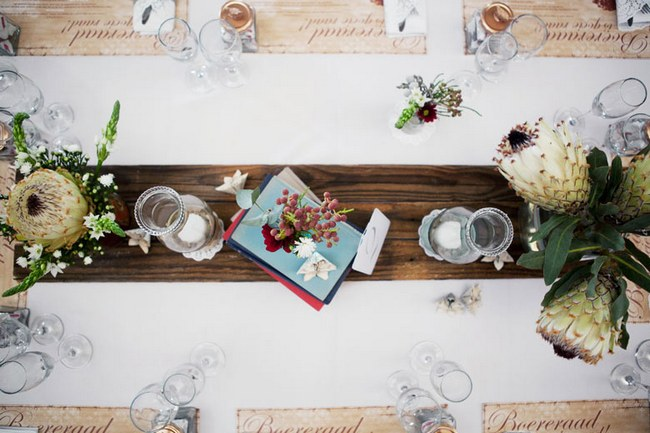 Aqua Blue Red Rustic Farm Wedding South Africa 036