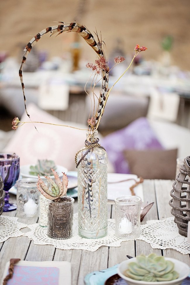 Boho Eclectic Wedding Decor