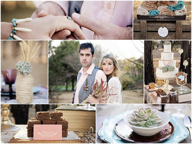 Succulent Wedding Theme: Bouquets, Decor and Favors Ideas