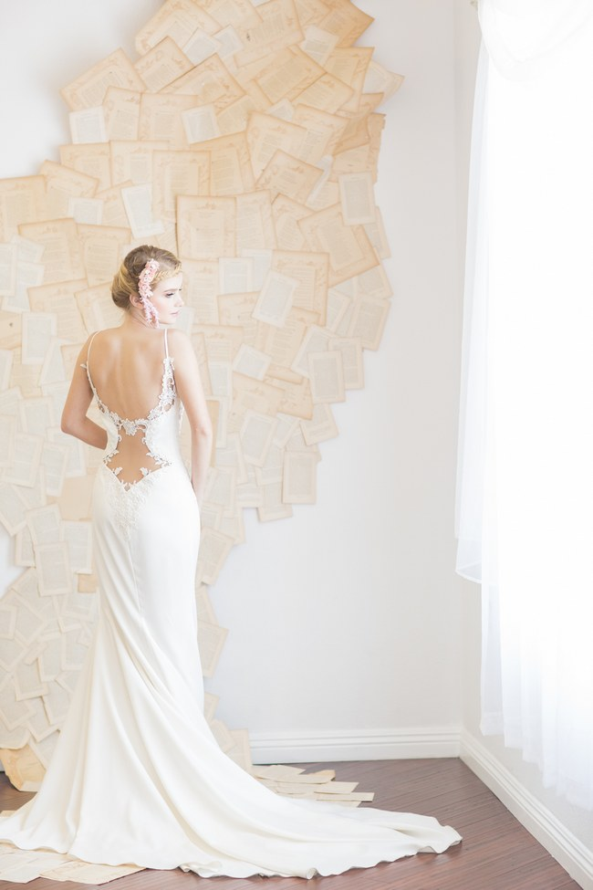 Backless Wedding Dress Gown (5)
