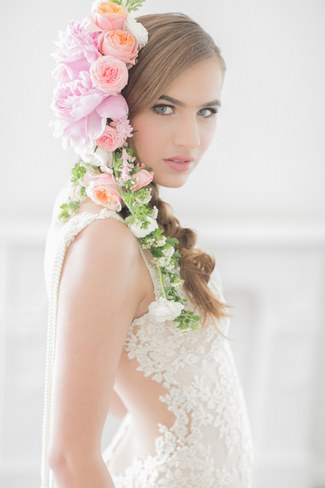 Flower Crowns Floral Wreath Bridal (1)