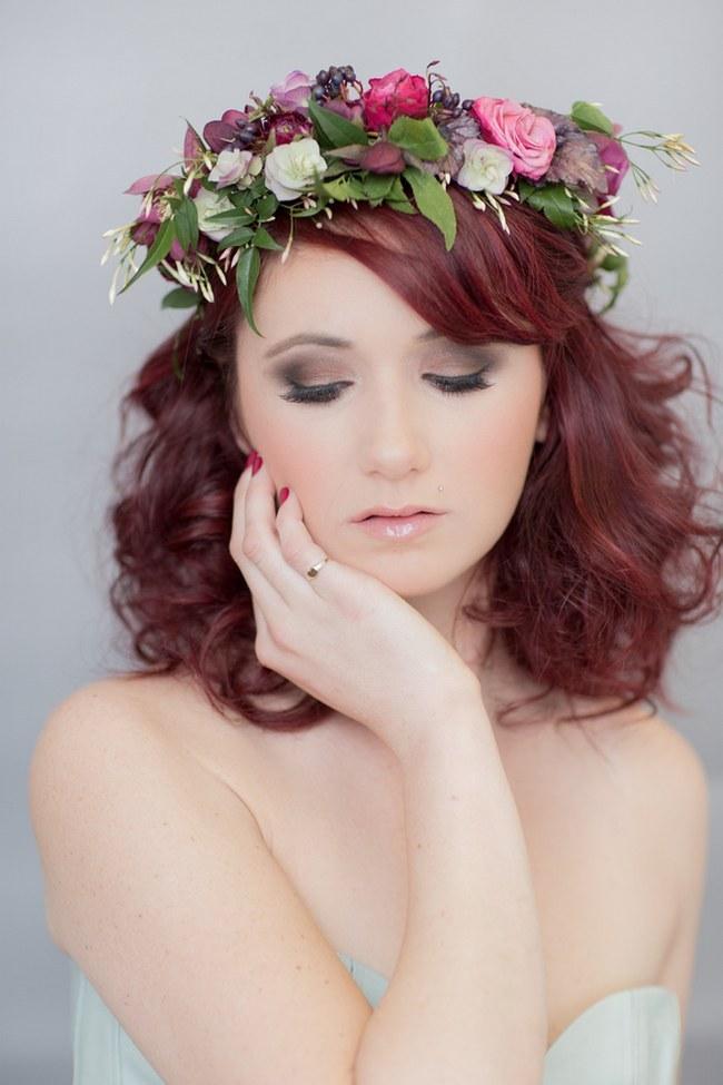 Flower Crowns Floral Wreath Bridal (13)