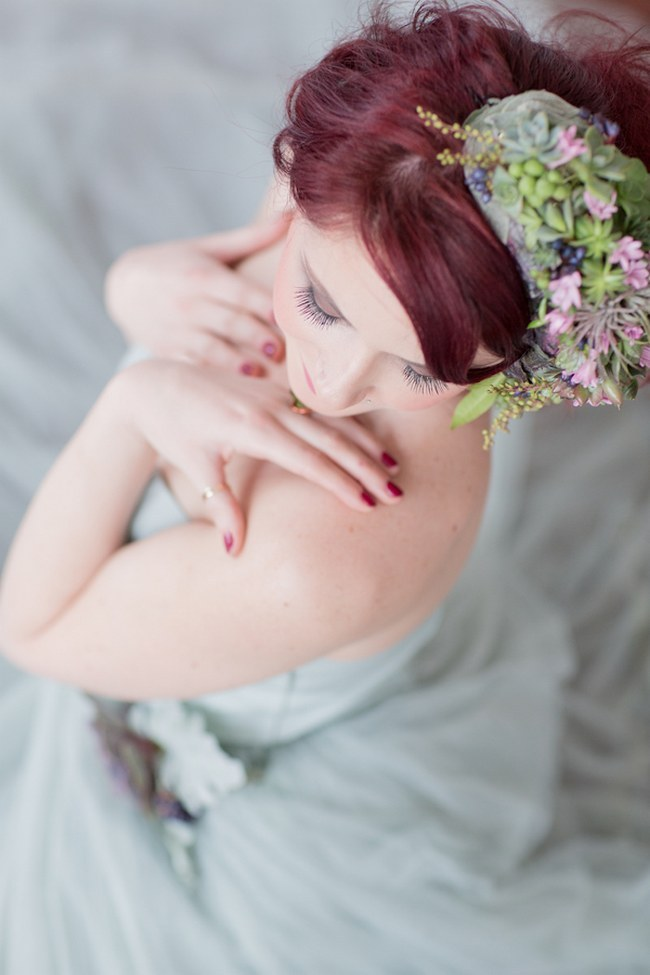 Flower Crowns Floral Wreath Bridal (17)