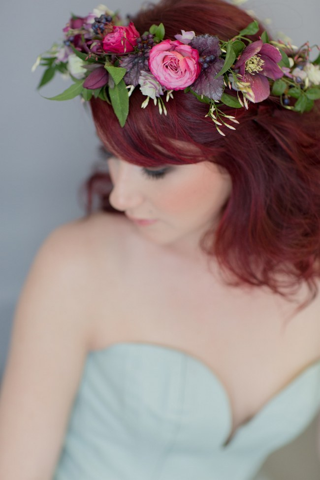 Flower Crowns Floral Wreath Bridal (18)