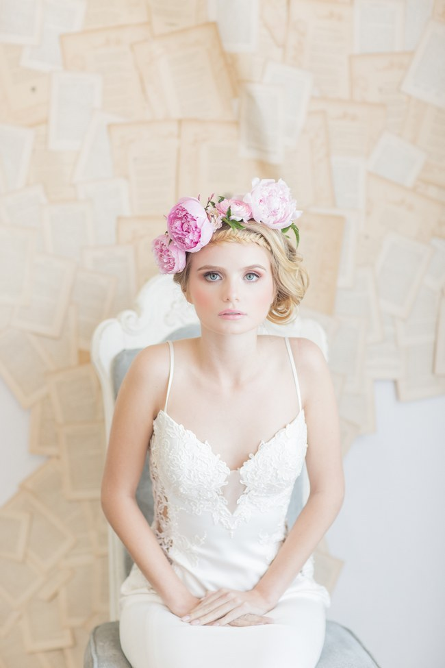 Flower Crowns Floral Wreath Bridal (27)