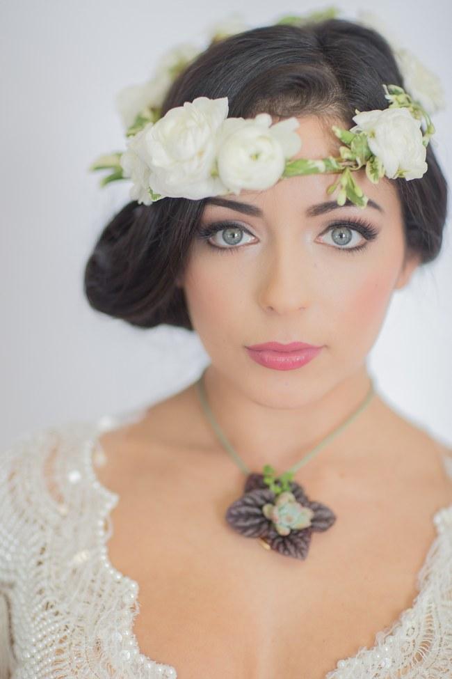 Flower Crowns Floral Wreath Bridal (29)