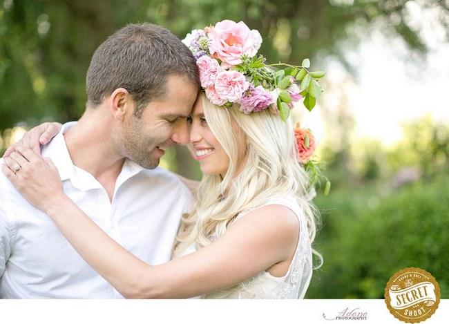 Flower Crowns Floral Wreath Bridal (3)