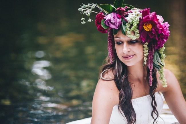 Flower Crowns Floral Wreath Bridal (6)