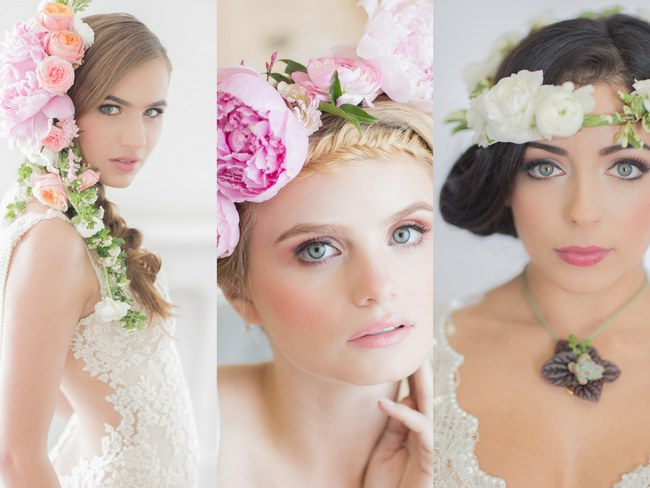 Flower Crowns and Wreaths