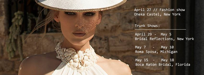 Galia Lahav Trunk Shows 2014